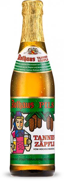 Rothaus - Bräu TANNENZÄPFLE Pils 330 ml / 5.1 % Deutschland