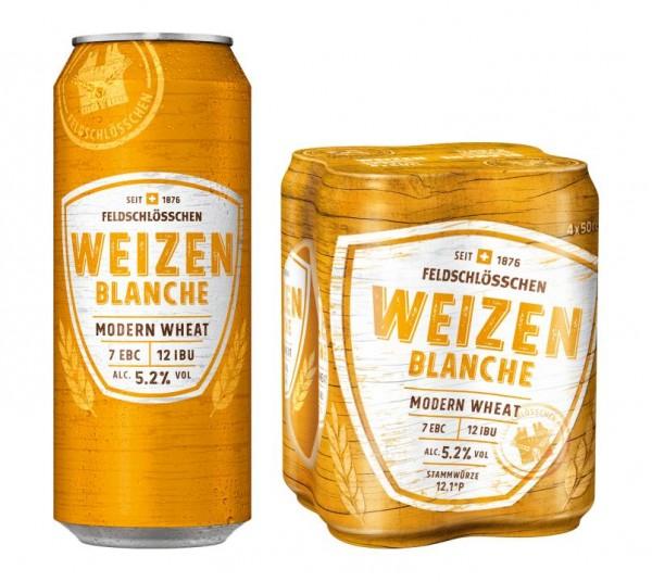Feldschlösschen WEIZEN Modern Wheat Dose 500 ml / 5.2 % Schweiz