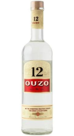 OUZO Douze 12 Anis 70 cl / 40 % Griechenland