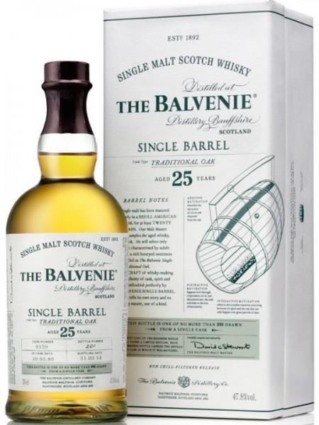 Balvenie Single Barrel 25 Years 70 cl / 47.8 % Schottland