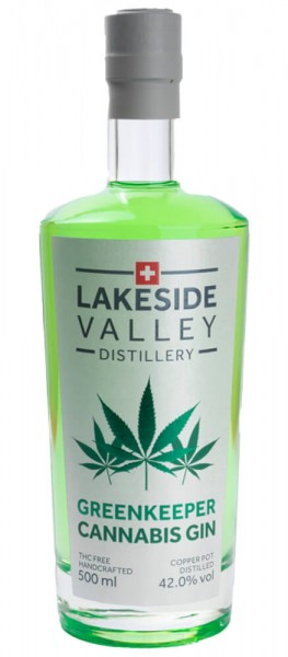 Lakeside Valley GREENKEEPER Dry Gin 50 cl / 42 % Schweiz