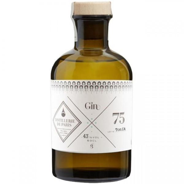 GIN 75 TONIK Distillerie de Paris 50 cl / 43 % Frankreich