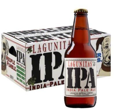 LAGUNITAS IPA Indian Pale Ale Kiste 24 x 355 ml / 6.2 % USA