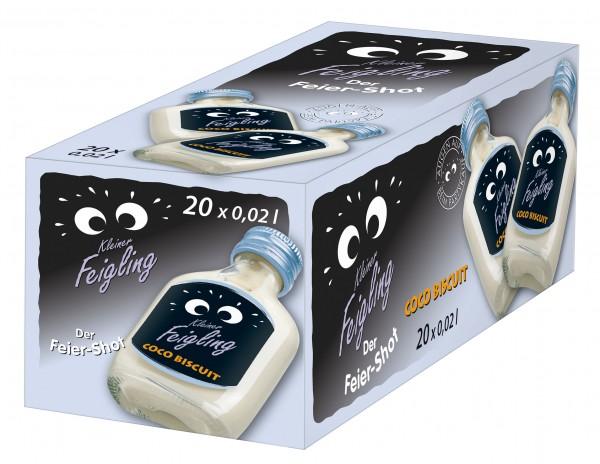Kleiner Feigling Fancy Flavours Coco Biscuit Shot BOX 20 x 2 cl / 15 % Deutschland