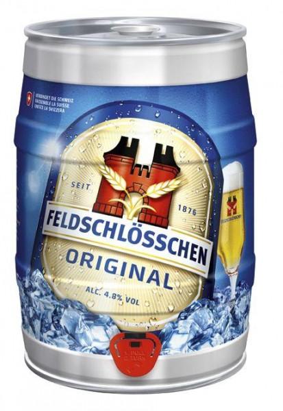 Feldschlösschen Partyfass 5 Liter / 4.8 % Schweiz