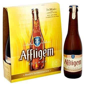 Affligem BLONDE Bier KISTE 24 x 330 cl / 6.8 % Belgien
