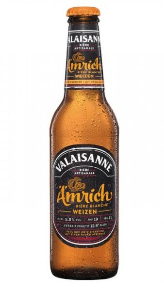 Valaisanne ÄMRICH WEIZEN Kiste 24 x 330 ml / 5.5 % Schweiz