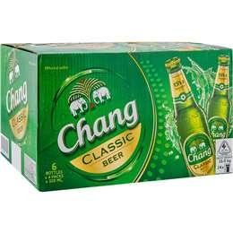 Chang Beer Kiste 24 x 320 ml / 5 % Thailand