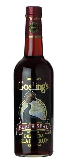 Gosling's Black Seal Bermuda Black Rum 70 cl / 40 % Karibik