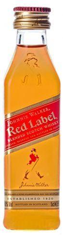 Johnnie Walker Red Label Shot PET 5 cl / 40 % Schottland
