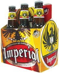 Imperial Lager Bier Case 24 x 355 ml / 4.6 % Costa Rica