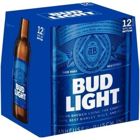 Bud Light Bier Glas Kiste 24 x 355 ml / 4.2 % USA