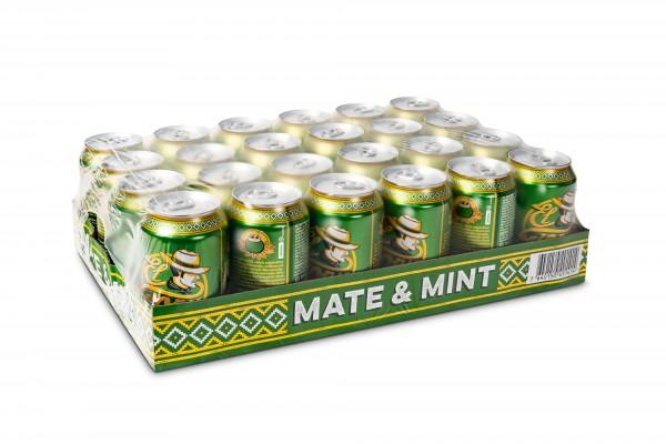 EL TONY Mate & MINT Tea Kiste 24 x 330 ml Österreich