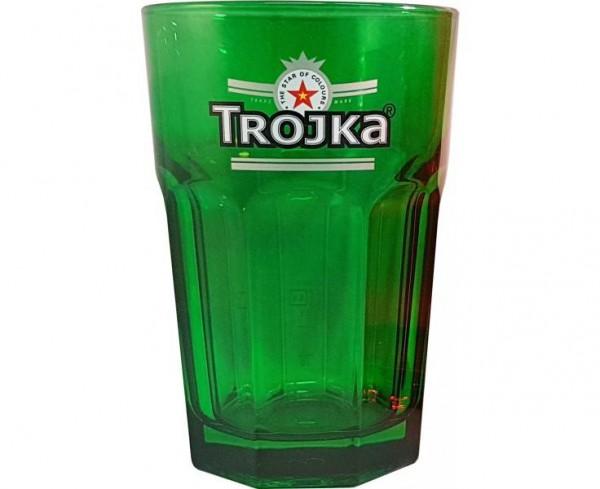 Trojka Caipi Glas GRÜN 350 ml mit Eichung 2 & 4 cl Univere