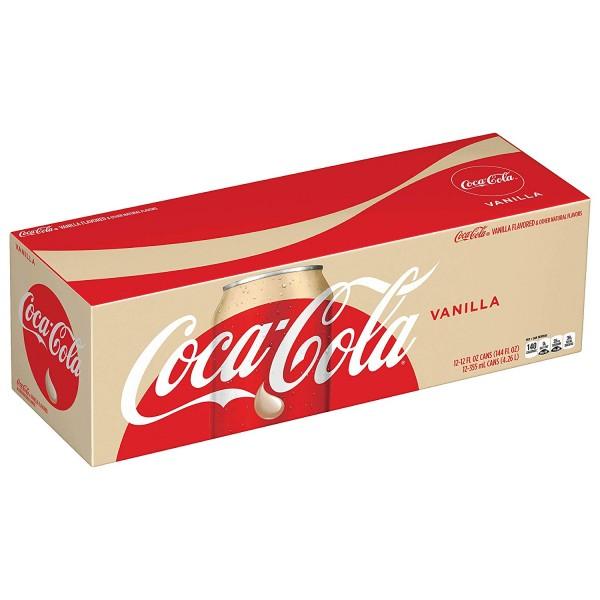 Coca Cola Vanilla Case 24 x 355 ml USA