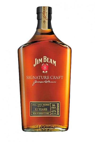 JIM BEAM Signature Craft Bourbon Whiskey aged 12 Years 70 cl / 43 % USA