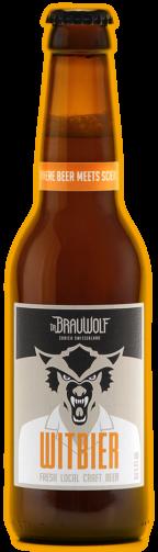 Dr. BRAUWOLF Belgian WHITEBIER 330 ml / 4.6 % Schweiz