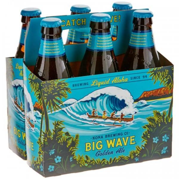Kona Big Wave Golden Ale Case 24 x 355 ml / 4.4 % Hawaii