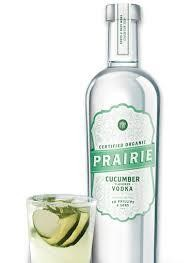 PRAIRIE CUCUMBER Organic Flavored Vodka 75 cl / 35 % USA