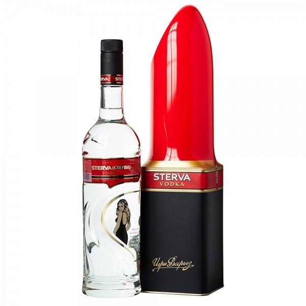 STERVA Lippenstift Vodka in Tube 70 cl / 40 % Russland