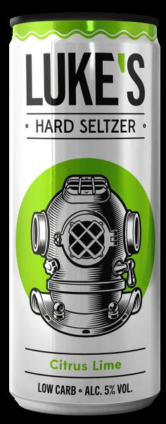 LUKE'S Hard Seltzer CITRUS LIME 330 ml / 5 % Austria