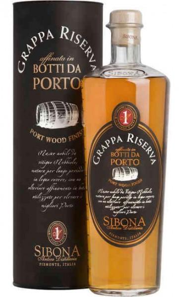 SIBONA Grappa Riserva Barolo Botti da Porto Magnum 1.5 Liter / 44 % Italien