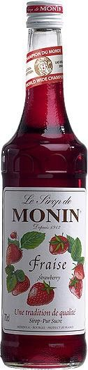 MONIN Premium Fraise / Strawberry Sirup 70 cl Frankreich