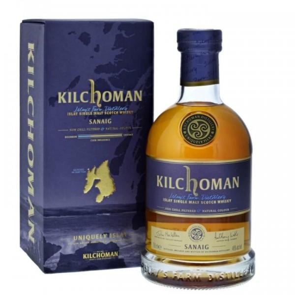 Kilchoman SANAIG Scotch Whisky 70 cl / 46 % Schottland