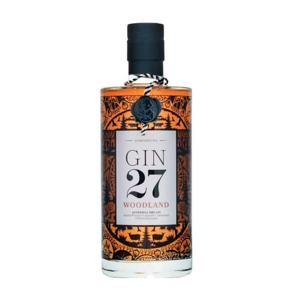 GIN 27 Premium WOODLAND Gin 70 cl / 43 % Schweiz