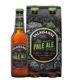 Valaisanne Pale Ale Kiste 24 x 330 ml / 5.2 % Schweiz