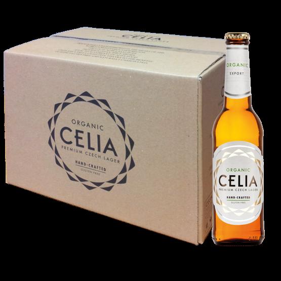 CELIA BIO Glutentfreies Bier Kiste 24 x 330 ml / 4.5 % Tschechien