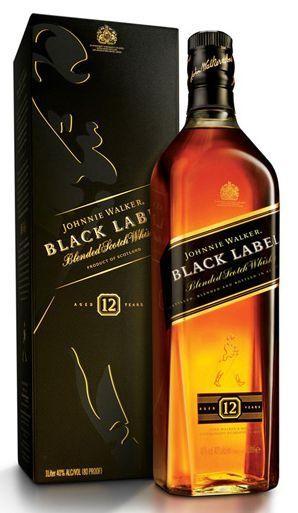 Johnnie Walker BLACK LABEL 70 cl / 40 % Schottland
