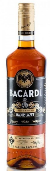 BACARDI MAJOR LAZER Special Edition 75 cl / 40 % Puerto Rico