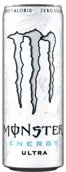 MONSTER Energy ULTRA WHITE Zero 355 ml UK