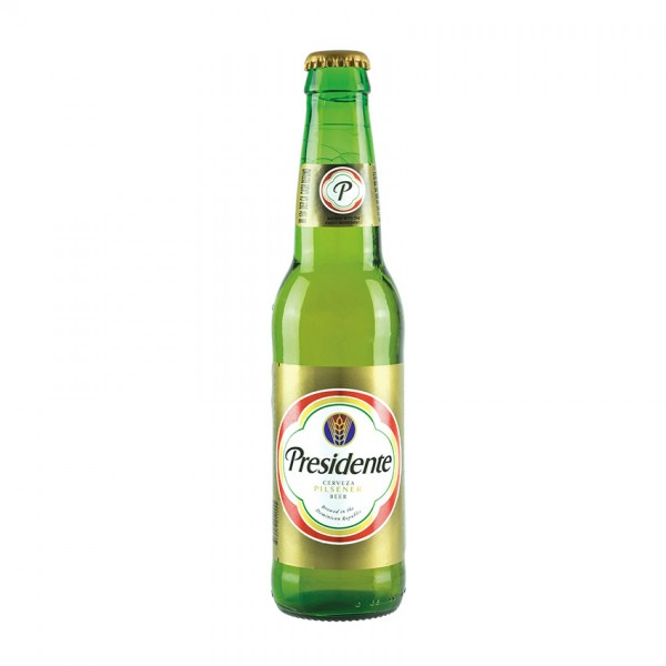 PRESIDENTE Pilsener 355 ml / 5 % Dom. Rep.