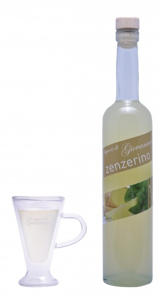 Giovanna Likör ZENZERINO - Ginger 50 cl / 23.5 % Schweiz