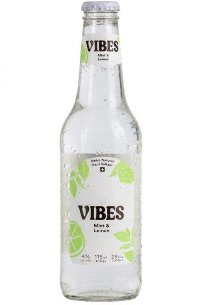 VIBES Hard Seltzer Mint & Lemon 330 ml / 4 % Schweiz