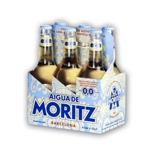 Moritz AIGUA 0.0 % Alkoholfreies Bier Kiste 24 x 330 ml Spanien