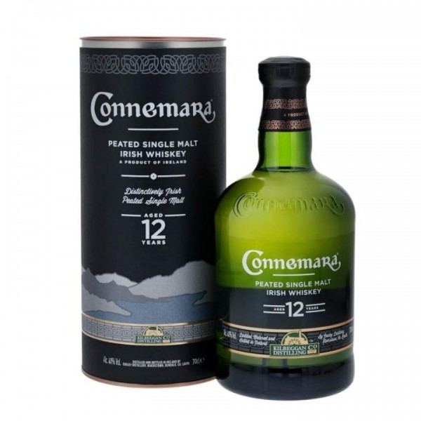 CONNEMARA 12 Years Peated Malt Irish Whiskey 70 cl / 40 % Irland