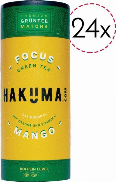 HAKUMA FOCUS Premium GRÜNTEE Kiste 24 x 235 ml Österreich