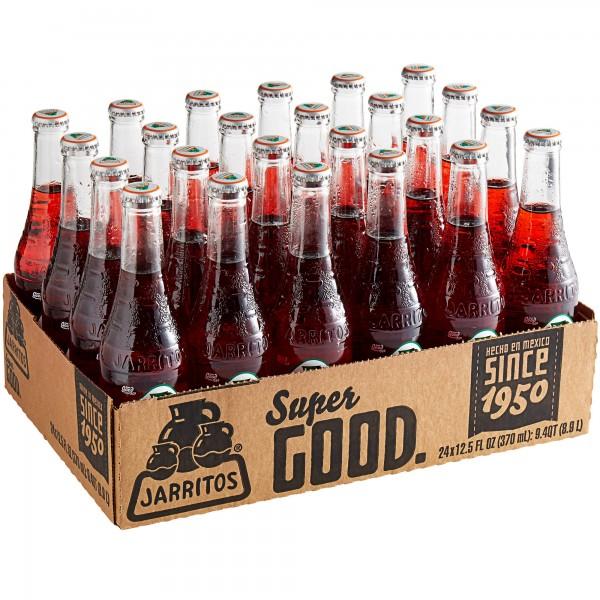 JARRITOS Strawberry natural flavor soda Kiste 24 x 370 ml Mexiko