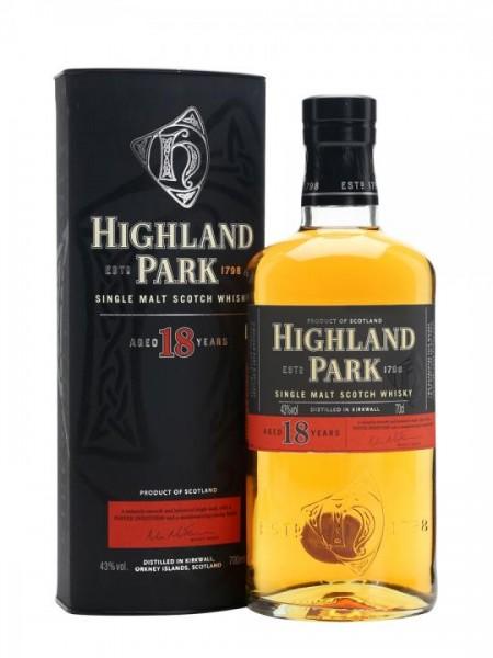 Highland Park Single Malt Scotch Whisky 18 Years 70 cl / 43 % Schottland