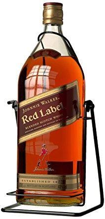 Johnnie Walker Red Label Special mit Metall Ständer 4.5 Liter / 40 % Schottland