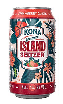 Kona Island Hard Seltzer STRAWBERRY GUAVA 355 ml / 5 % Hawaii