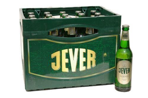 JEVER Pilsener Bier Kiste 24 x 330 ml / 4.9 % Deutschland