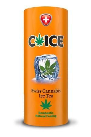 C-Ice Cannabis Ice Tea Kartondose 250 ml Schweiz