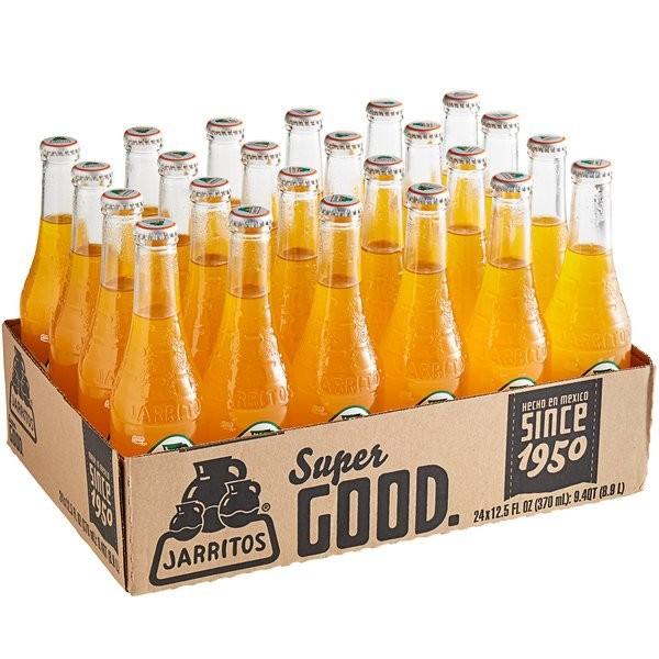 JARRITOS Mango natural flavor soda 370 ml Mexiko