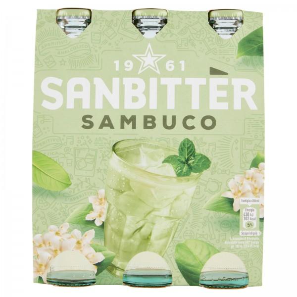 Sanpellegrino Sanbitter SOBUCO Glasflasche Kiste 24 x 200 ml Italien