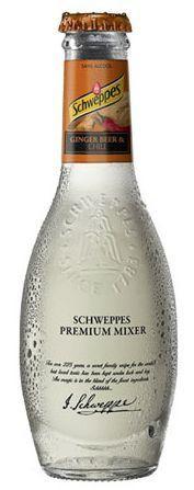 Schweppes Premium Mixer Ginger Beer CHILI 200 ml UK