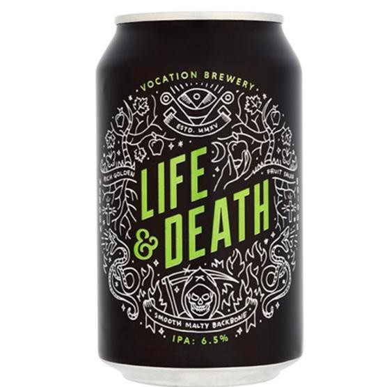 Vocation LIFE & DEATH IPA IPA Bier Dose 330 ml / 6.5 % UK